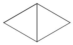 Seguna parte de la construcción del molde de pirámide